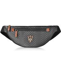 Ermenegildo Zegna - Maserati Pelletessutatm Belt Bag - Lyst