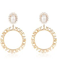 Bijoux De Famille - Amore Hoops Earrings - Lyst