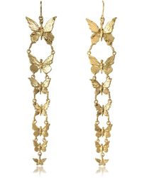 Bernard Delettrez - Butterflies Bronze Earrings - Lyst