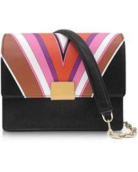 Emilio Pucci - Stella Printed Eco Leather Shoulder Bag - Lyst