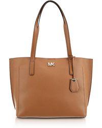 Michael Kors - Pebbled Leather Ana Medium Ew Bonded Tote Bag - Lyst