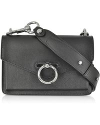 Rebecca Minkoff - Black Caviar Leather Jean Xbody Bag - Lyst
