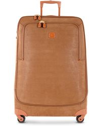 Bric's - Life Camel Micro Suede X-large Trolley - Lyst
