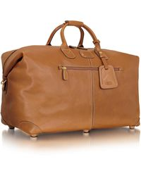 Bric's - Life Pelle- Hold-all Duffle - Lyst