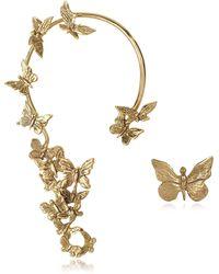 Bernard Delettrez - Butterflies Bronze Ear Cuff - Lyst