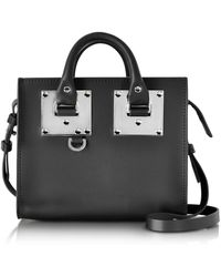 Sophie Hulme | Black Saddle Leather Albion Box Tote Bag | Lyst