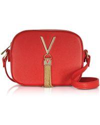 Valentino By Mario Valentino - Lizard Embossed Eco Leather Divina Mini Crossbody Bag - Lyst