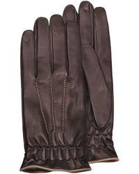 FORZIERI - Herren-Handschuhe aus Kalbsleder mit Kaschmirfutter - Lyst