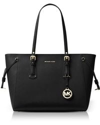 Michael Kors - Voyager Medium Leather Tote - Lyst