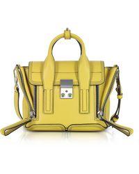 3.1 Phillip Lim - Chartreuse Leather Pashli Mini Satchel Bag - Lyst