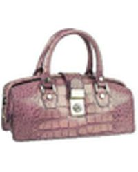 L.A.P.A. | Lilac Croco-embossed Mini Doctor Style Bag | Lyst
