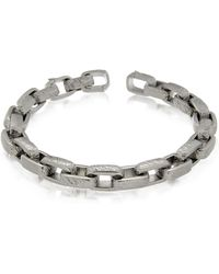 Zoppini - Zo-chain Stainless Steel Link Bracelet - Lyst