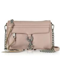 Rebecca Minkoff - Vintage Pink Mini Mac Clutch/shoudler Bag - Lyst