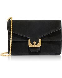 Coccinelle - Ambrine Mini Suede Crossbody Bag - Lyst