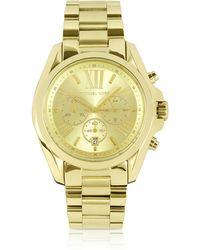 Michael Kors - Mid-size Bradshaw Chronograph Watch - Lyst