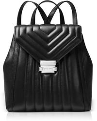 Michael Kors - Whitney Quilted Leather Backpack - Lyst