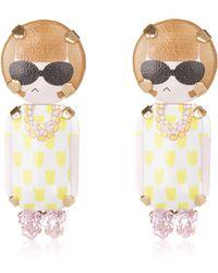Bijoux De Famille - Anna Pendant Earrings - Lyst