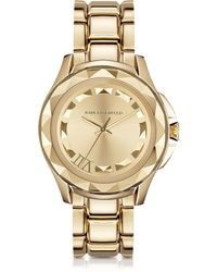 Karl Lagerfeld - Karl 7 43.5mm Gold Ip Stainless Steel Unisex Watch - Lyst