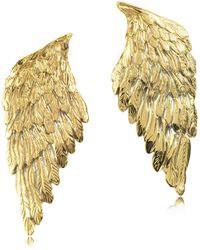 Bernard Delettrez - Bronze Wings Earrings - Lyst