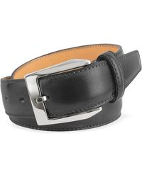 Pakerson - Men's Black Hand Painted Italian Leather Belt - Lyst