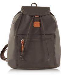Bric's - Women's Green Polyamide Backpack - Lyst