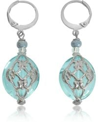 Antica Murrina | Florinda Light Blue Murano Glass Earrings | Lyst