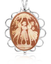 Mia & Beverly - Cornelian Pin/pendant - Lyst