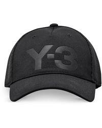 Y-3 - Black Trucker Baseball Cap - Lyst