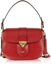 Moschino - Red Leather Crossbody Bag - Lyst