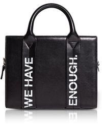 Corto Moltedo - Costanzita Leather We Have More Than Enough Tote Bag - Lyst