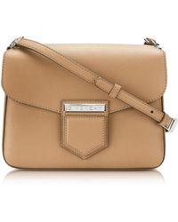 Givenchy - Nobile Small Beige Leather Shoulder Bag - Lyst