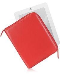 Fontanelli - Étui en cuir pour tablette - Lyst