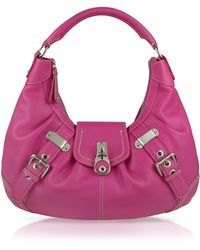 Buti - Large Pebble Leather Hobo Bag - Lyst
