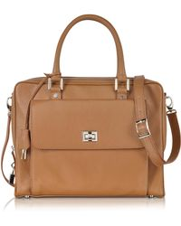 Buti - Light Brown Leather Business Folio - Lyst