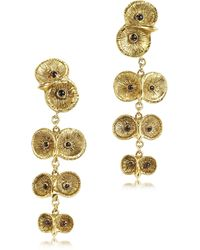 Bernard Delettrez - Bronze 4 Owls Earrings - Lyst