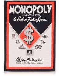 Olympia Le-Tan - Monopoly Parker Trading Game Box Clutch - Lyst