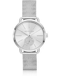 Michael Kors - Ladies' Portia Stainless-steel Watch - Lyst