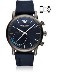 Emporio Armani - Art3009 Luigi 43 Hybrid Se1 Men's Smartwatch - Lyst
