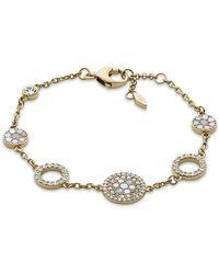 Fossil - Jf02602710 Vintage Glitz Women's Bracelet - Lyst