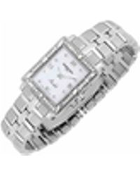 Raymond Weil - Parsifal - Ladies' Diamond Frame Mother Of Pearl Date Watch - Lyst