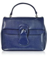Rodo - Lizard Embossed Leather Satchel Bag - Lyst