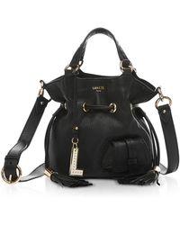 Lancel - Premiere Small Leather Bucket Bag - Lyst