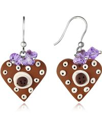 Dolci Gioie - Heart Cake Earrings - Lyst