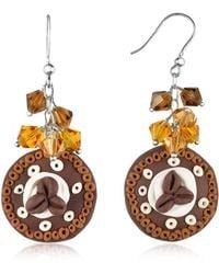 Dolci Gioie | Chocolate Cake Earrings | Lyst