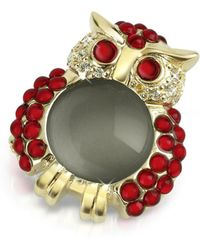 AZ Collection | Red Owl Pin | Lyst