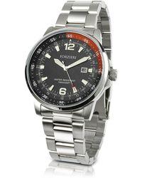Forzieri | Men's Stainless Steel Bracelet Dive Watch | Lyst
