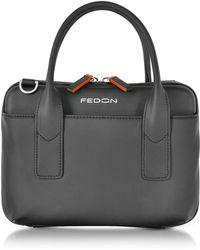Giorgio Fedon - Bubble Double Handles Mini Bag W/shoulder Strap - Lyst