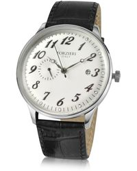 Forzieri | Automatic Stainless Steel Dress Watch | Lyst