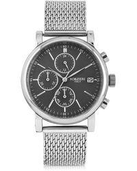 FORZIERI - Berlino Silver Tone Stainless Steel Men's Chrono Watch - Lyst