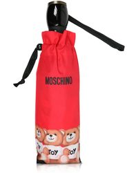 Moschino - Bears In A Row Red Umbrella - Lyst